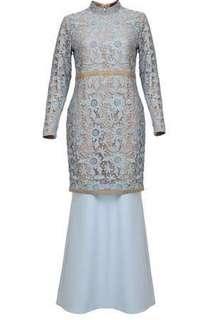 New Poplook Premium Lace Baju Kurung Moden #sbux50