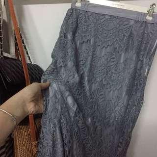 Mermaid kurung skirt