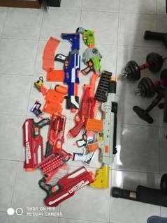 Nerf blaster clear stock take all