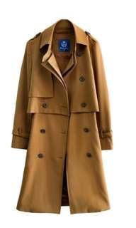 OLIVO兩件式洋裝風衣外套(全新出清)