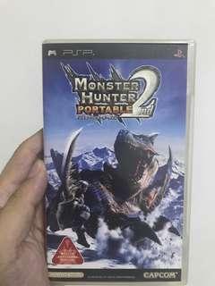 PSP Monster hunter 2 portable Japanese version
