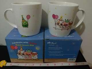 (只餘一隻) 豐澤 Fortress X 麥兜 Mcdull Ceramic Mug 陶瓷杯