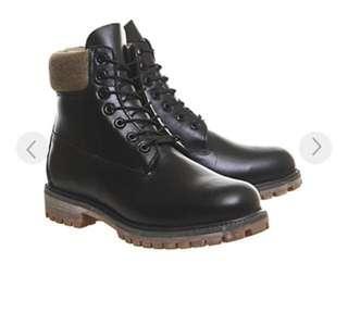 🚚 【賤賣 4000元高CP值靴子】Timberland 防水皮革高雅黑 防水靴 高筒鞋 冬天必備