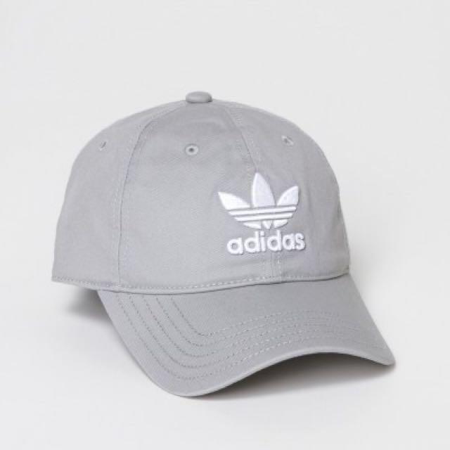 Adidas Originals Grey Cap 4337e6298de