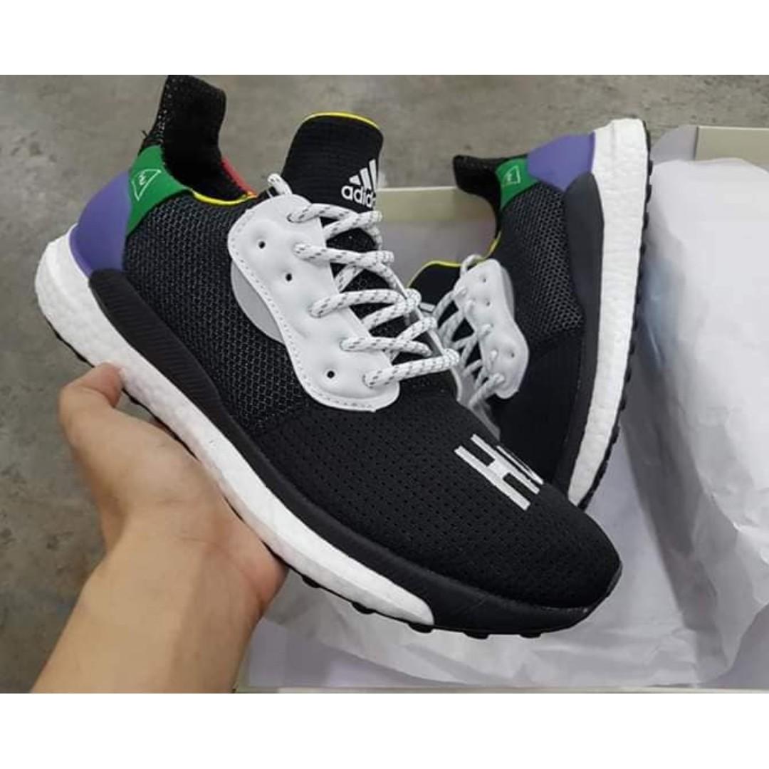 finest selection 3e00c bc385 ADIDAS Pharrell Williams x ADIDAS Solar Hu Glide Shoes, Mens