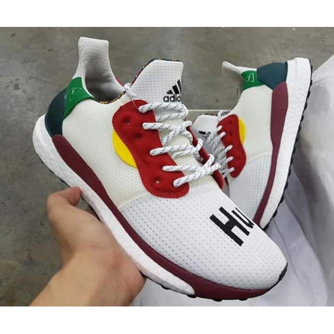 574af594897e1 ADIDAS Pharrell Williams x ADIDAS Solar Hu Glide Shoes