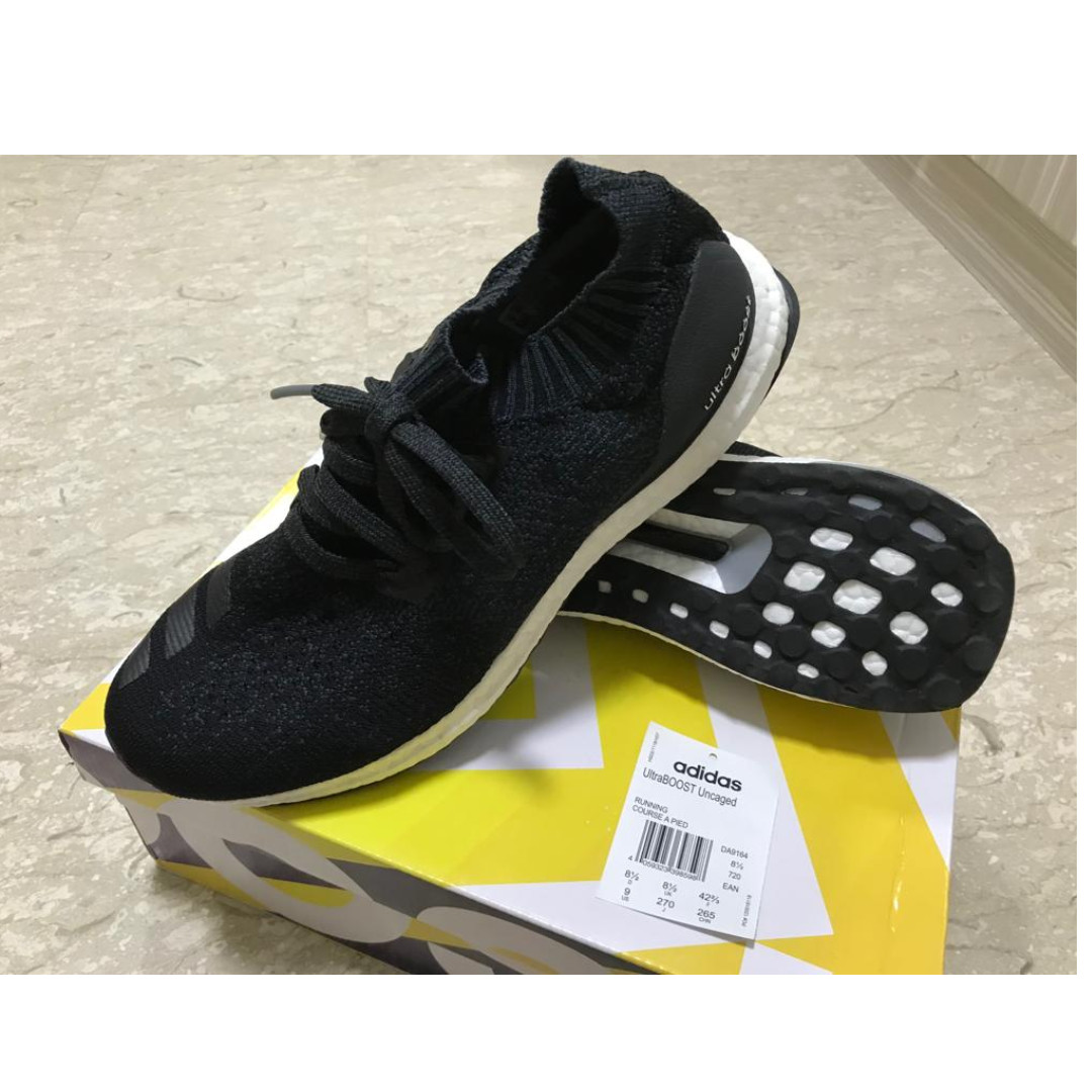 sports shoes 27c78 d0568 Adidas Ultra Boost Uncaged Mens Shoes US 9 UK 8.5, Mens Fash