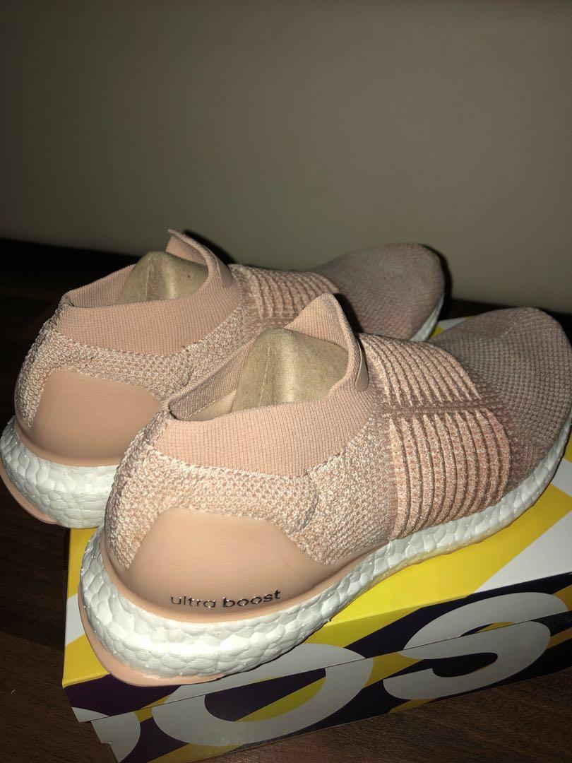 542ddbbe013 Adidas Ultraboost Laceless women ash pearl pink