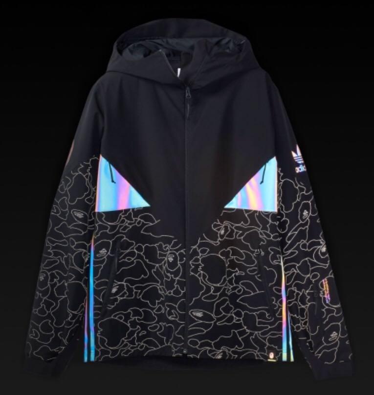 ee5b72cd42eb Adidas x Bape Jacket
