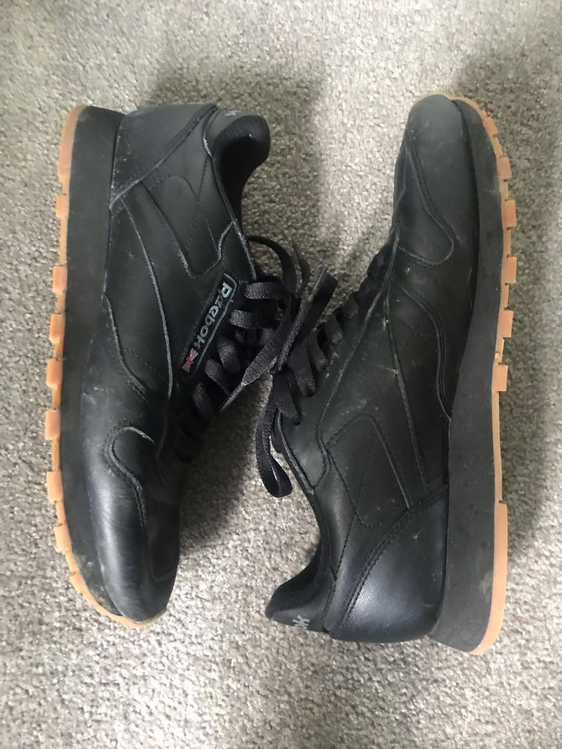 All Black Womens Reebok