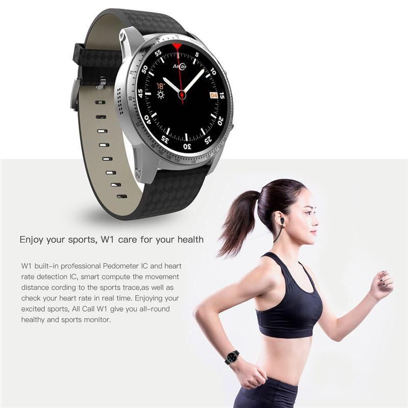 AllCall 1.39 inch Screen Android 5.1 Fitness Smart Watch