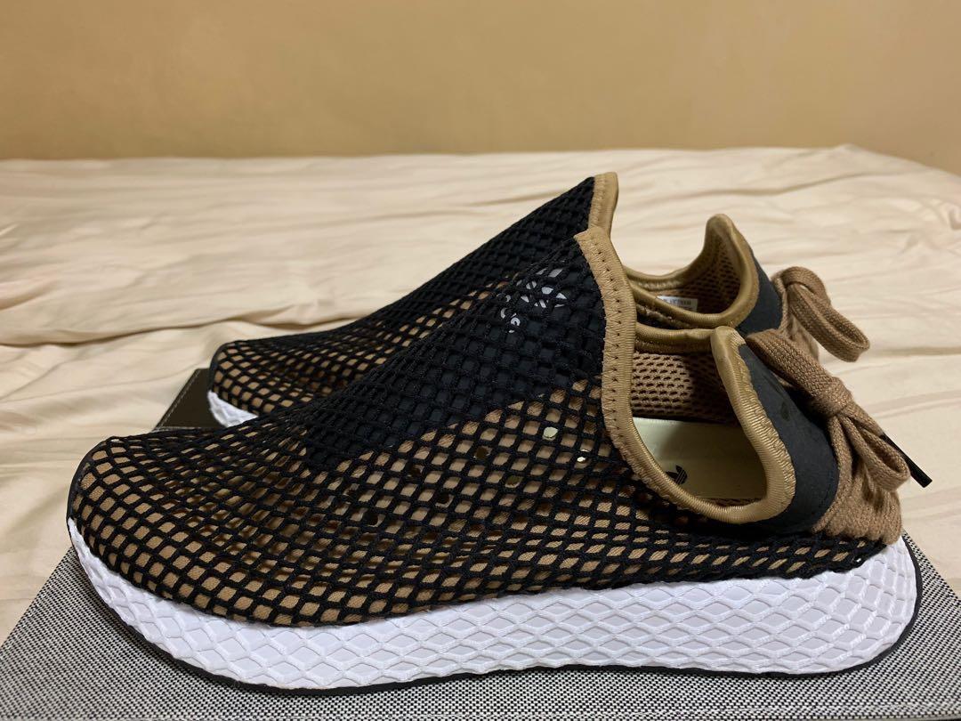 Authentic Adidas Deerupt Blk/Gold, Men