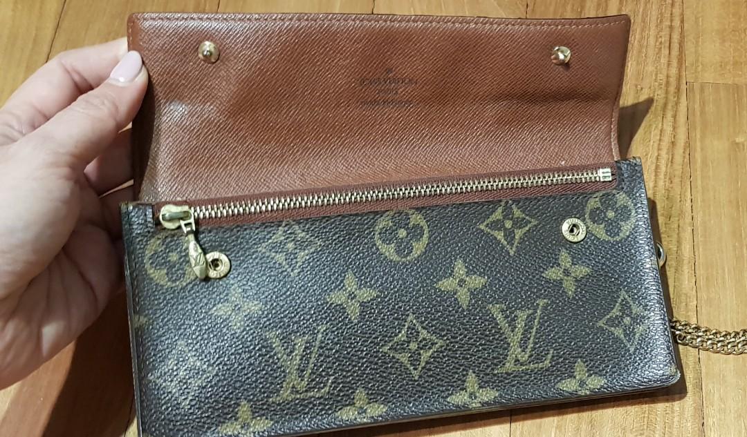 55d30f498b4d Authentic Preloved Vintage Louis Vuitton LV Wallet Clutch