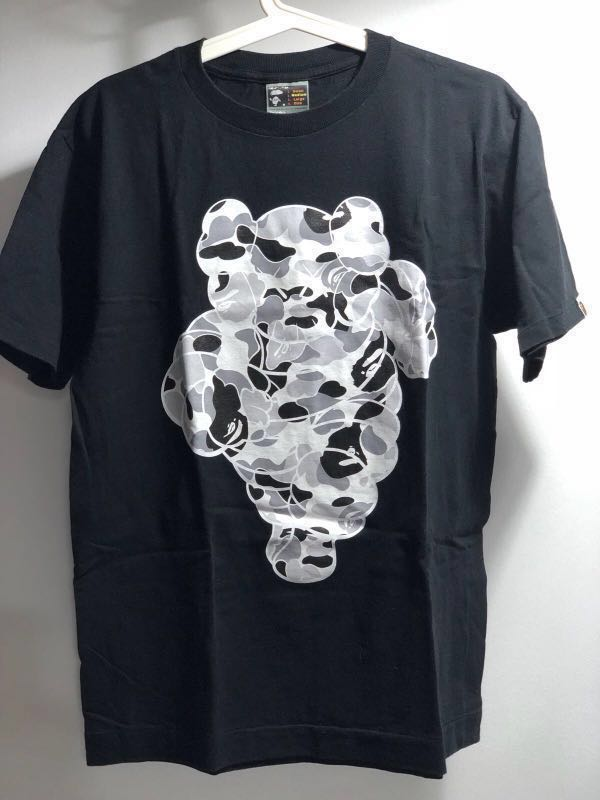 Bape X Kaws >> Bape X Kaws Men S Fashion Clothes Tops On Carousell