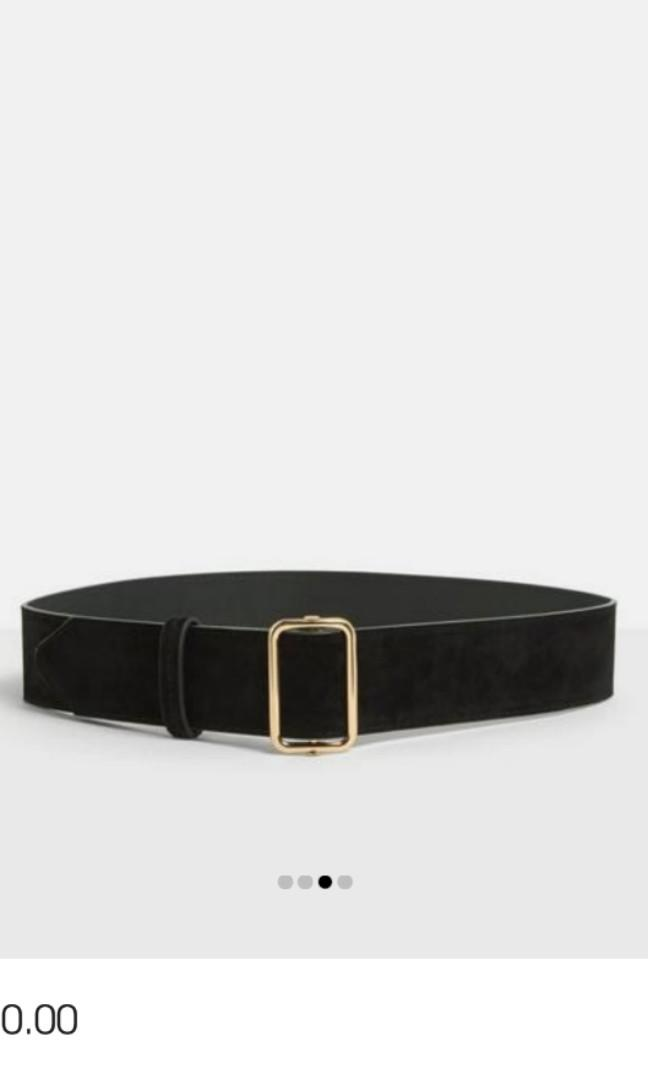 BNWT Missguided Velvet Belt