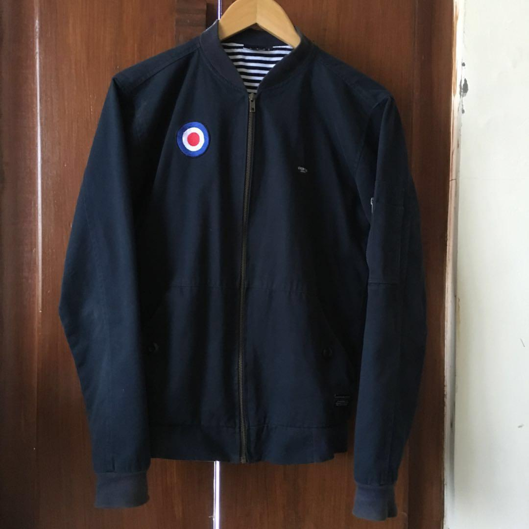 Bomber Jaket/Jacket Every Navy Blue Gelap