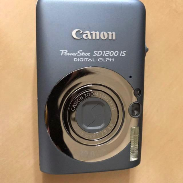 Canon SD1200 camera