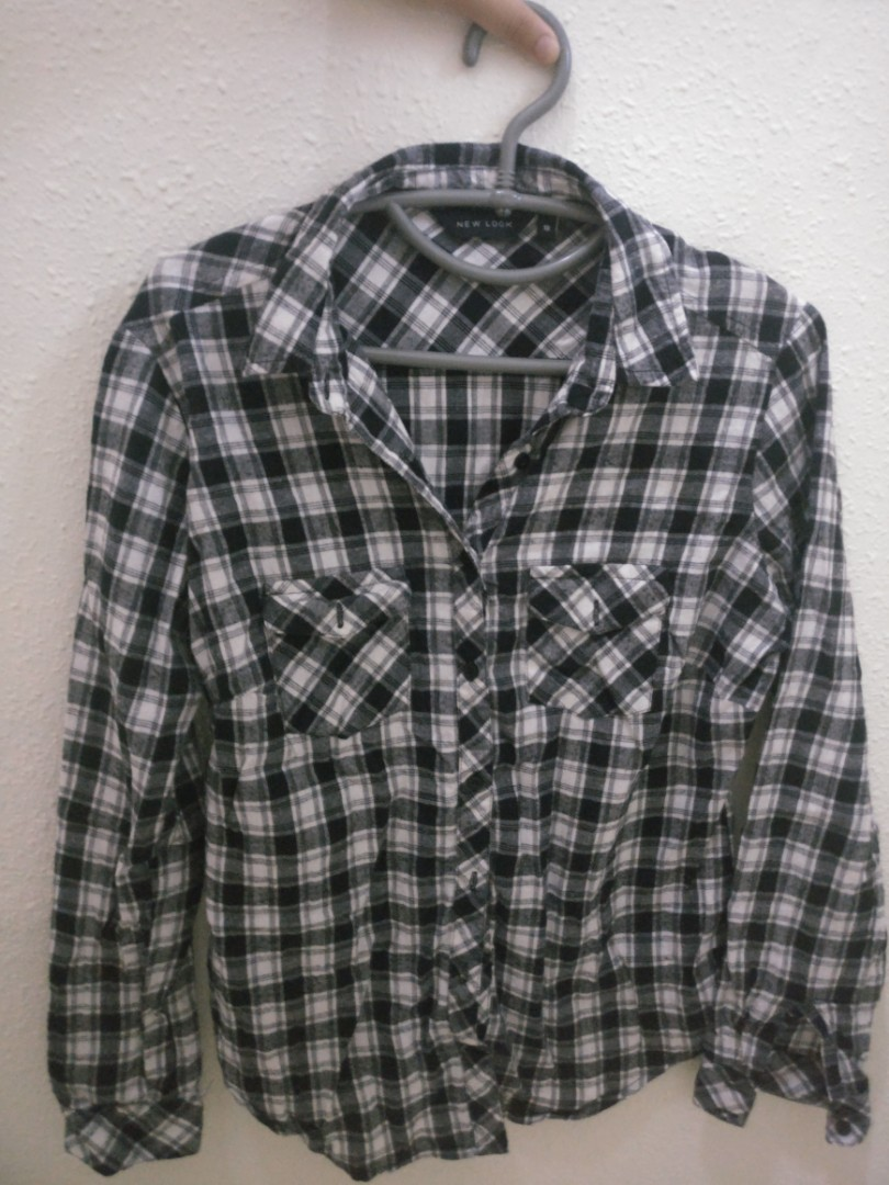 bd9c62aefb Checkered new look shirt