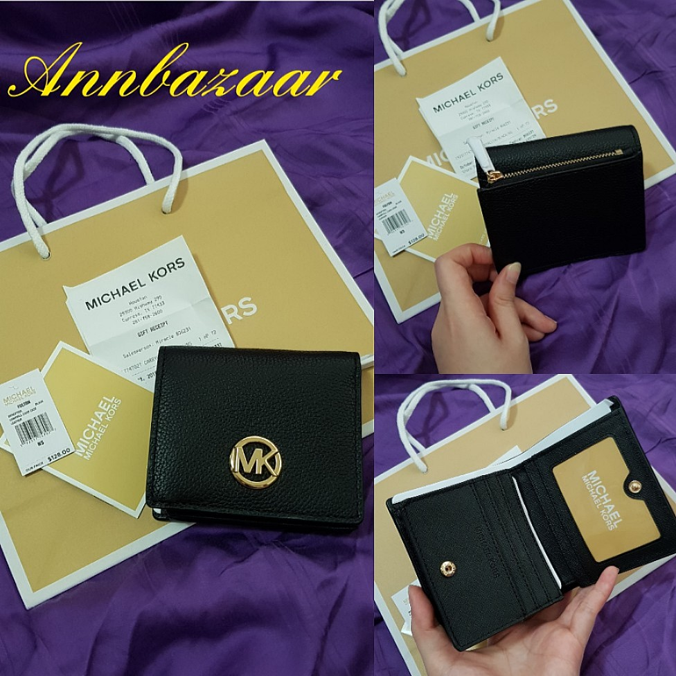 38d600560f2d25 SPECIAL OFFER! Michael Kors Fulton Carryall Card and Coin Case ...