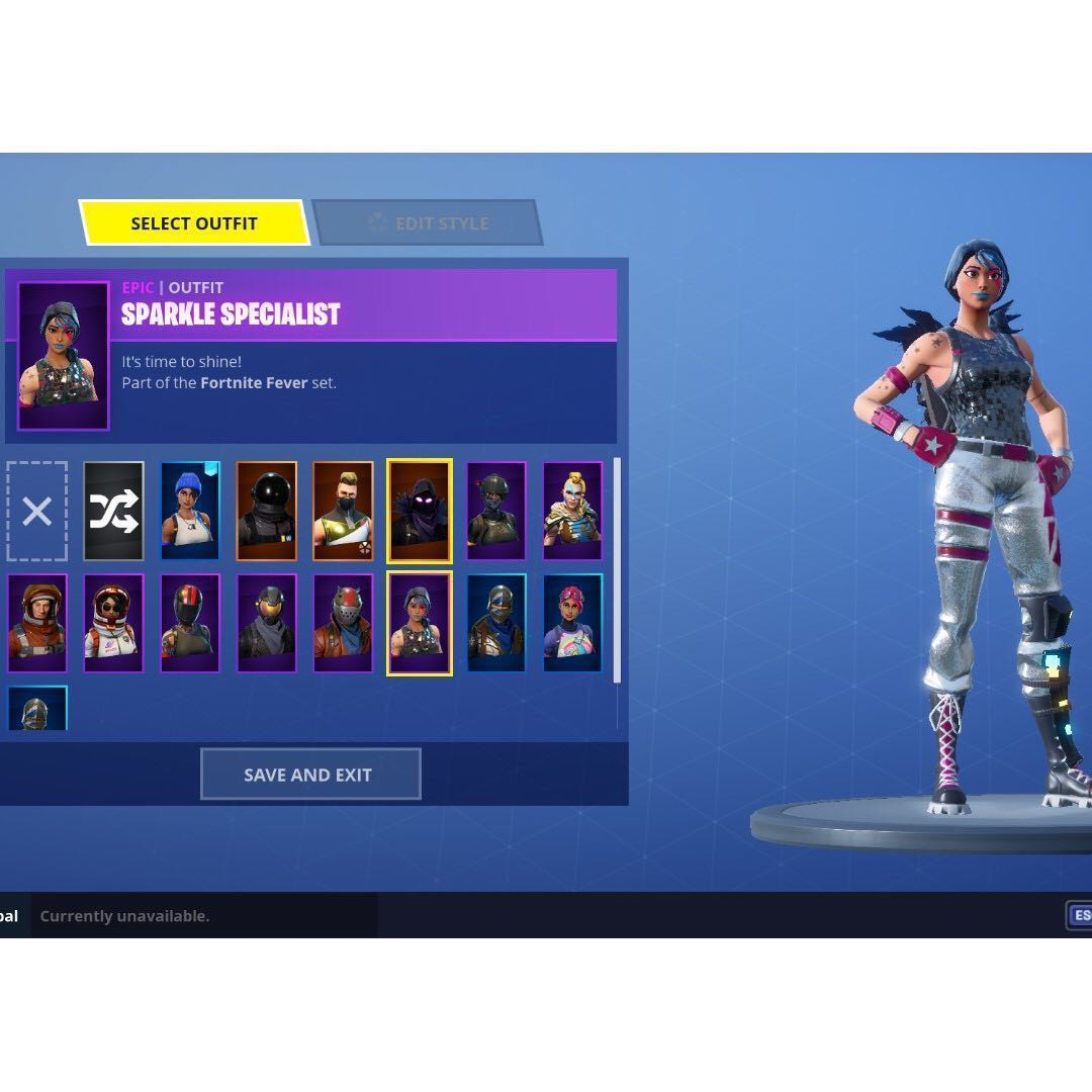 cracked inactive fortnite s2 account sparkle specialist toys games video gaming in game products on carousell - fortnite sparkle specialist account