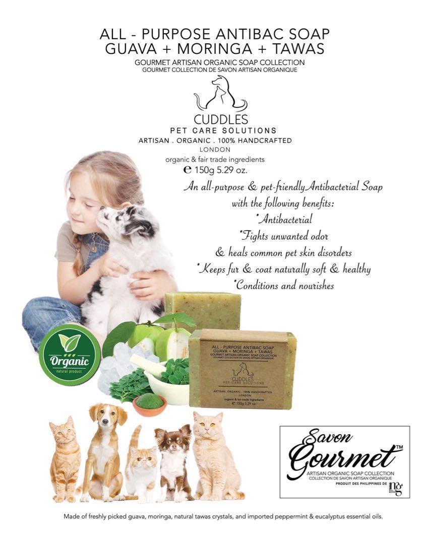 Cuddles Organic Pet Soap on Carousell