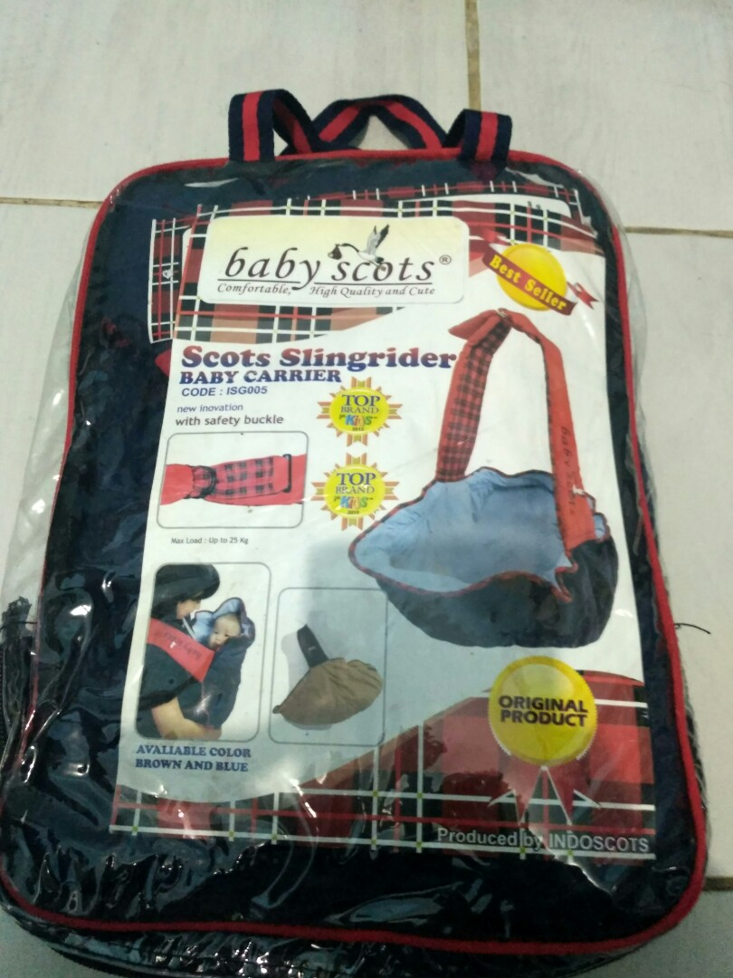 Gendongan Bayi Baby Scots af1be30cd2