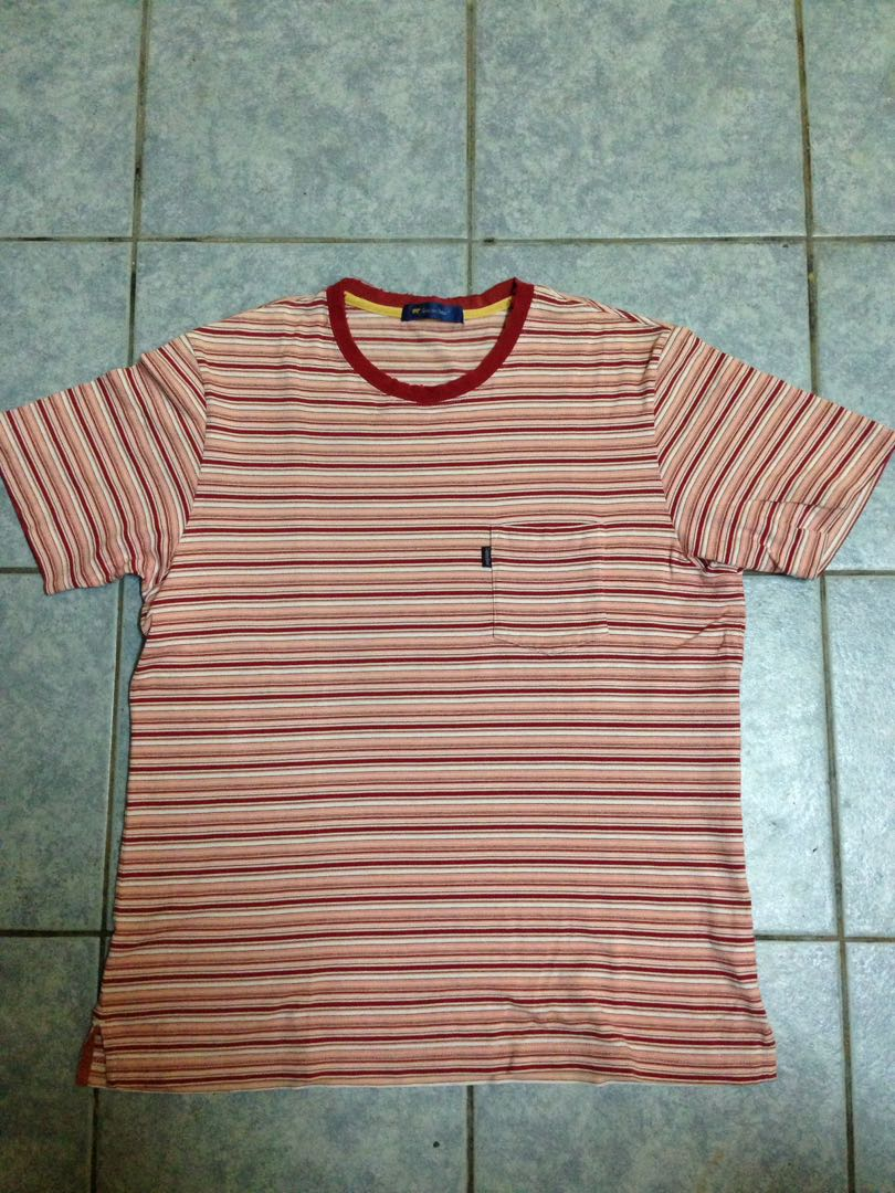 09b1ff28 GOLDEN BEAR STRIPE TEE, Men's Fashion, Clothes, Tops on Carousell