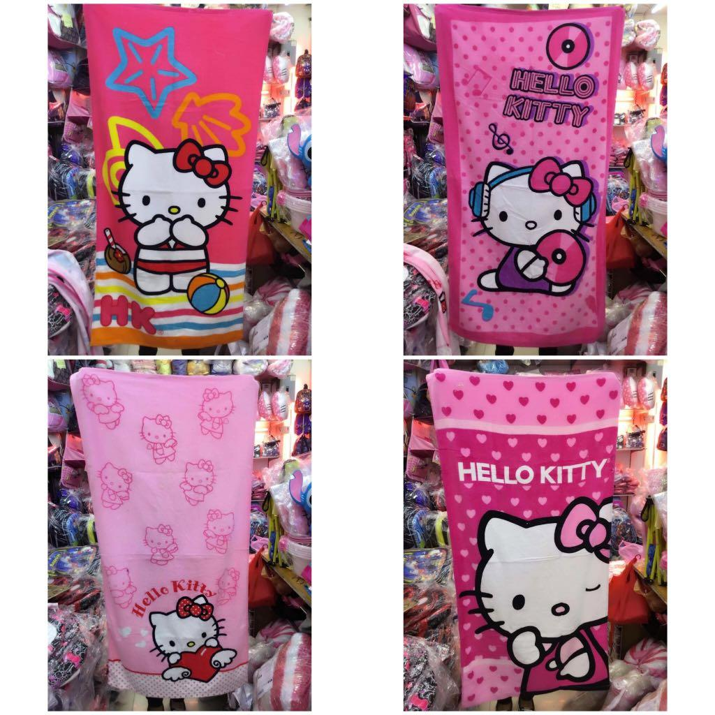 2573601f3 Hello Kitty Bath Towels on Carousell