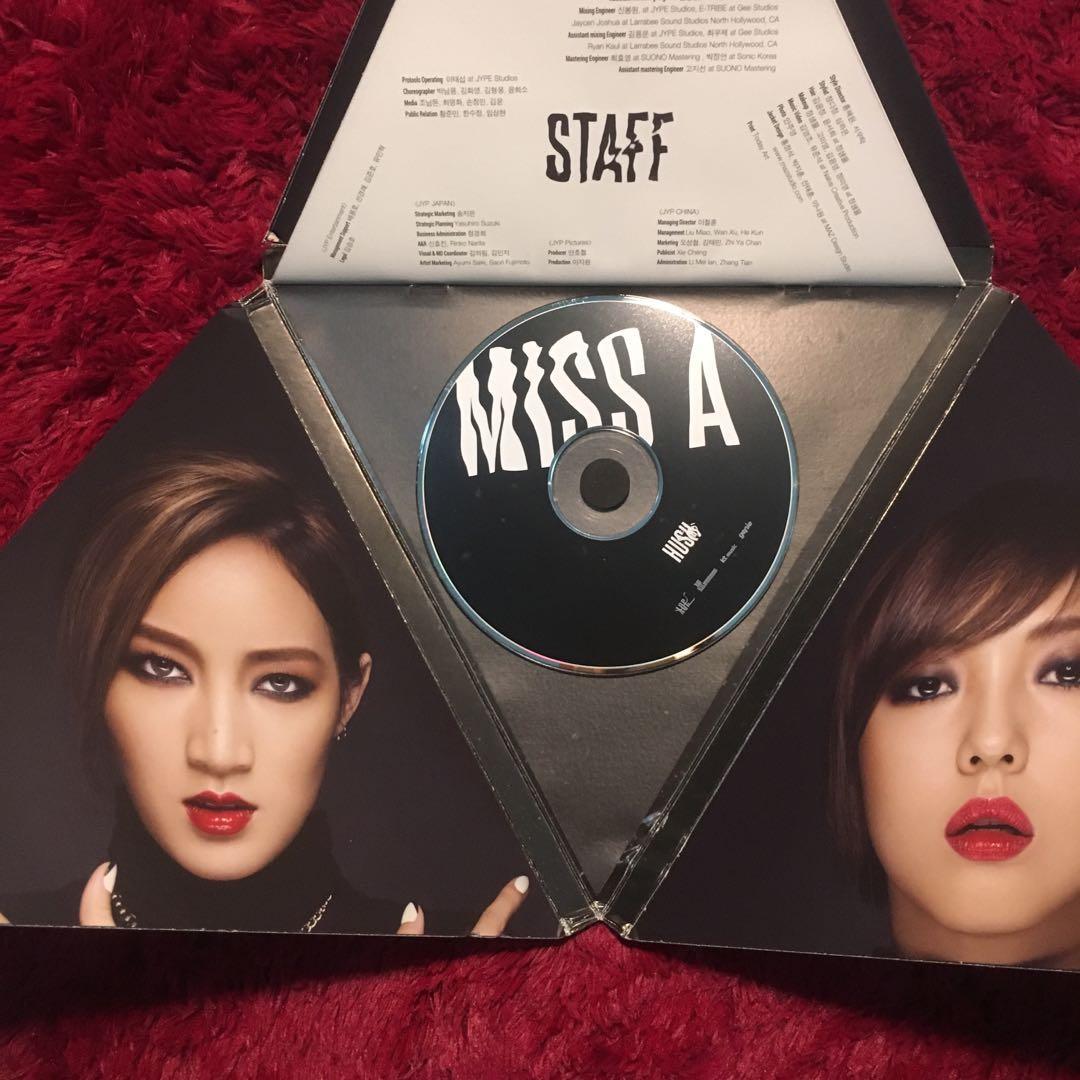 HUSH Album - Miss A