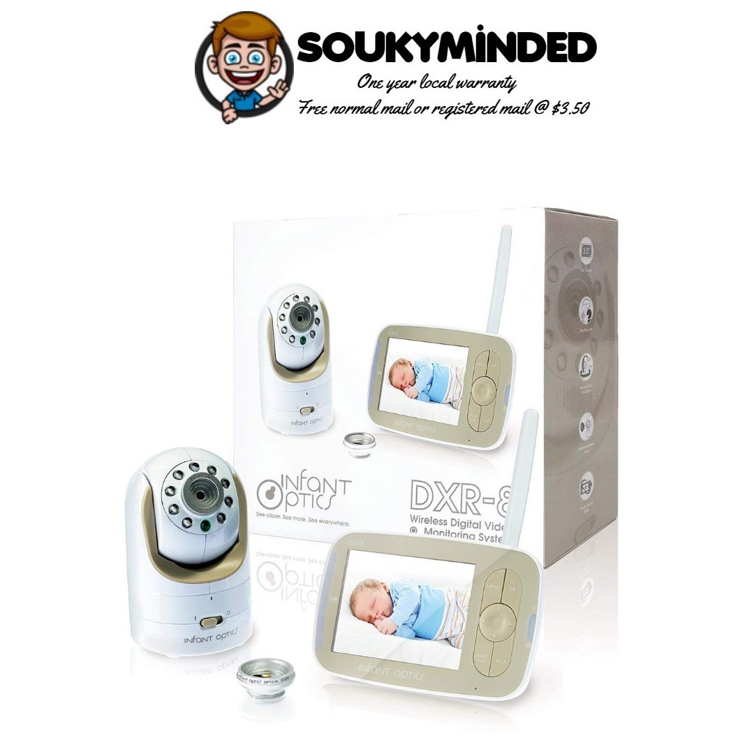 69017c0f5df3 IN-STOCK  Infant Optics DXR-8 Video Baby Monitor with ...