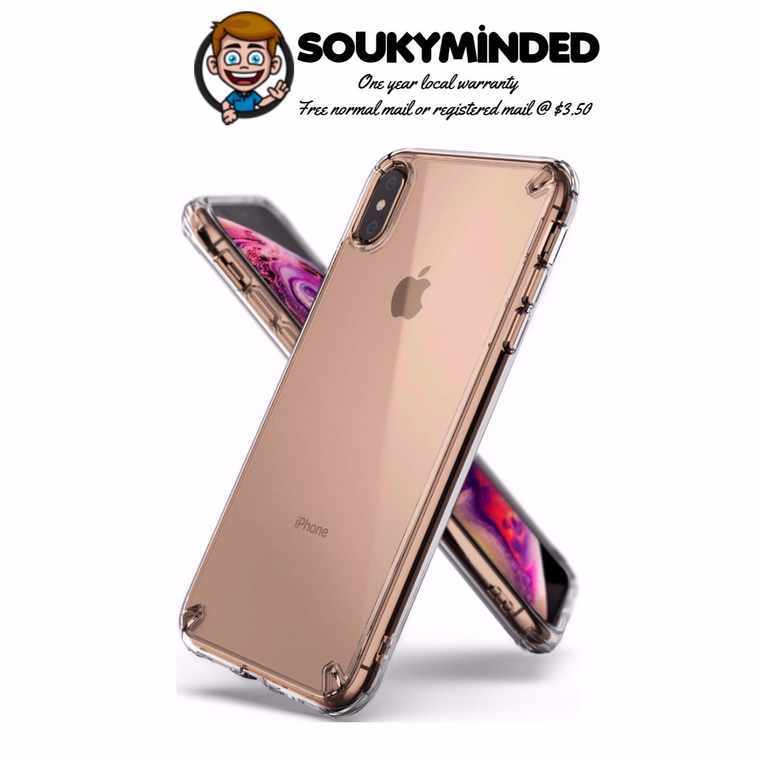 In Stock Ringke Fusion Designed For Iphone Xs Max Case Clear