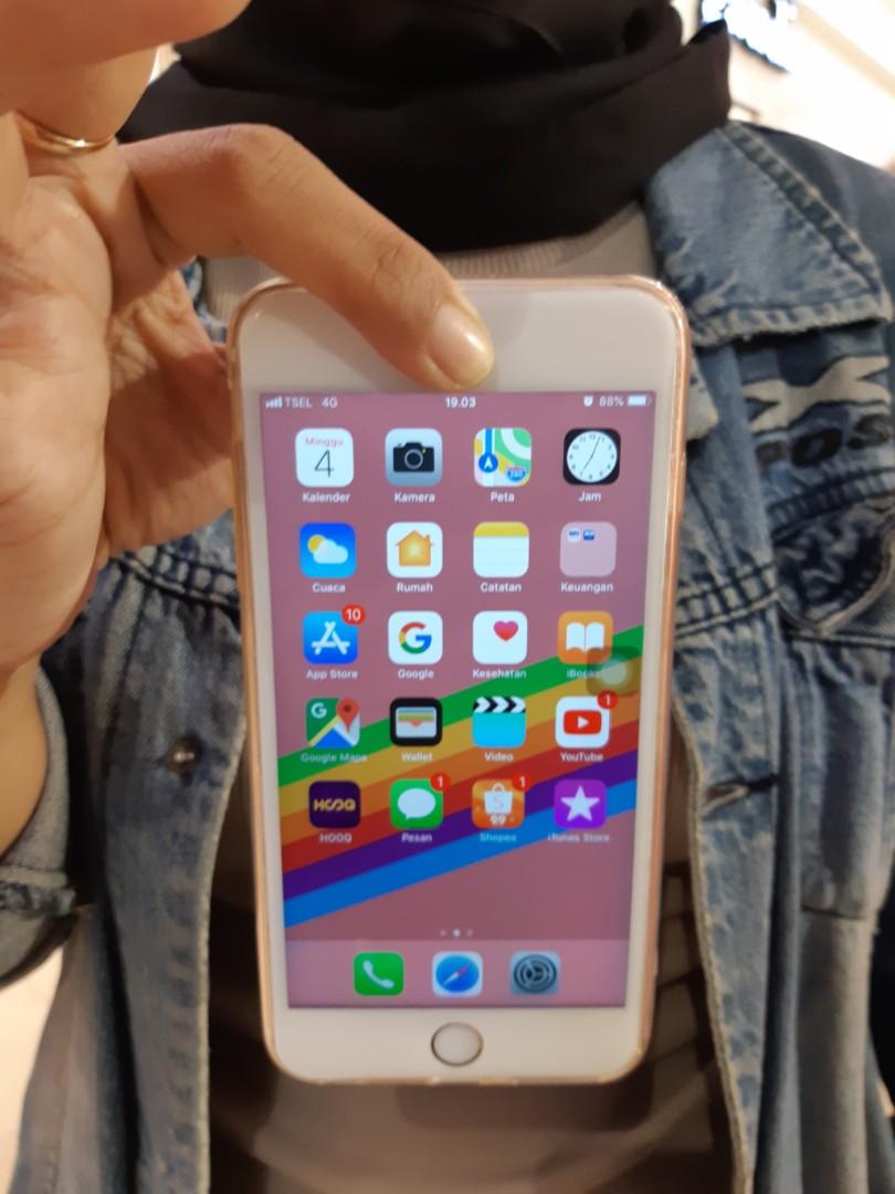 Iphone 6s Plus Gold Second Garansi Resmi Ibox Indonesia 6d703c81f5