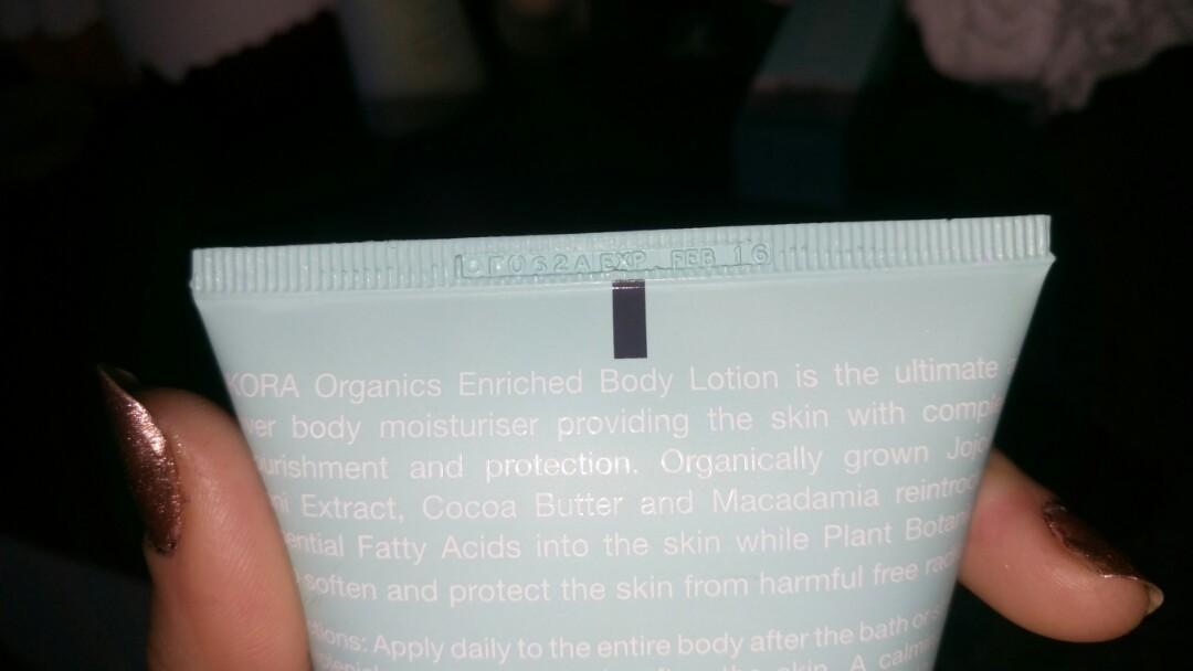 Kora organics - enriched body lotion 150ml