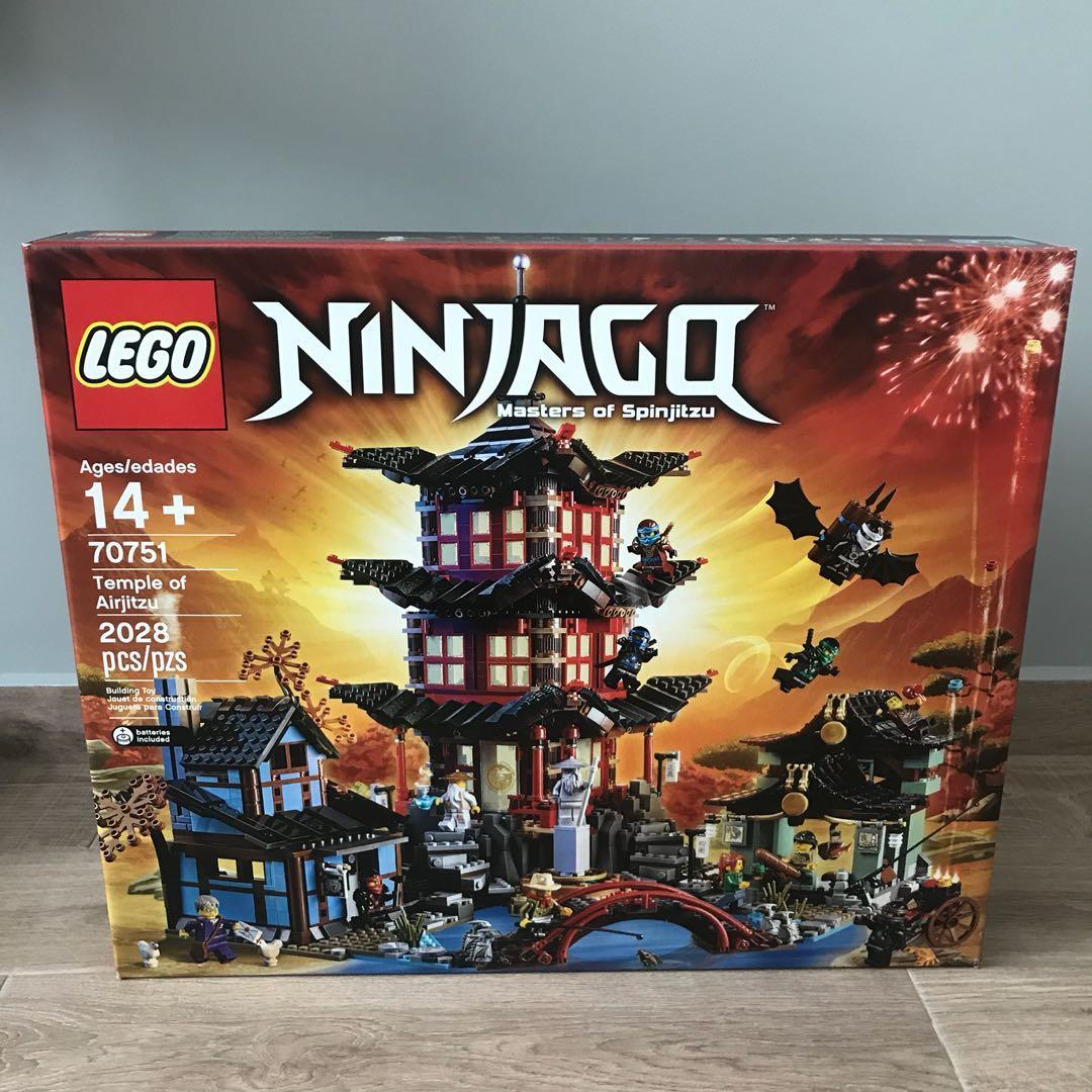 Temple Lego 70751 Airjitzu Misb Of Ninjago hxBCsdtQr
