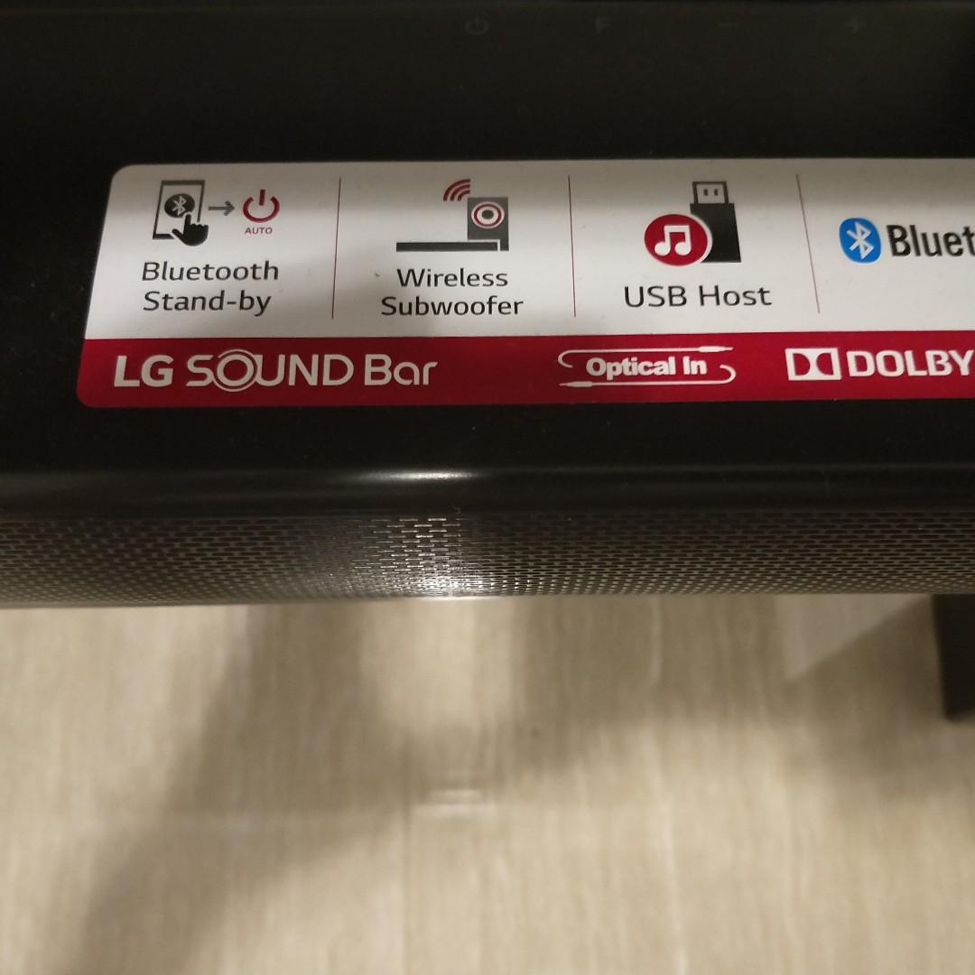 LG SJ2 2 1CH BLUETOOTH SOUNDBAR ( 2 months old)