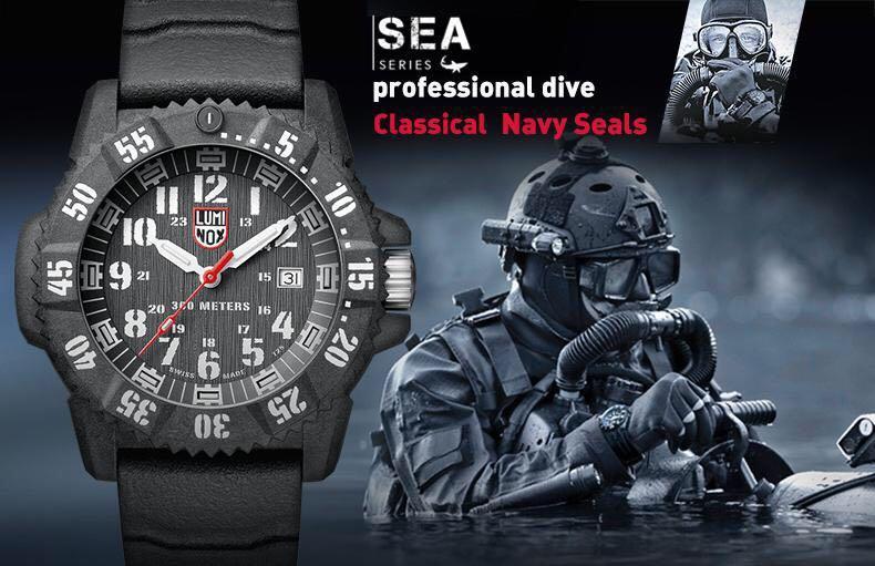 Luminox Made in Switzerland XS.3801 Sea Sports Series