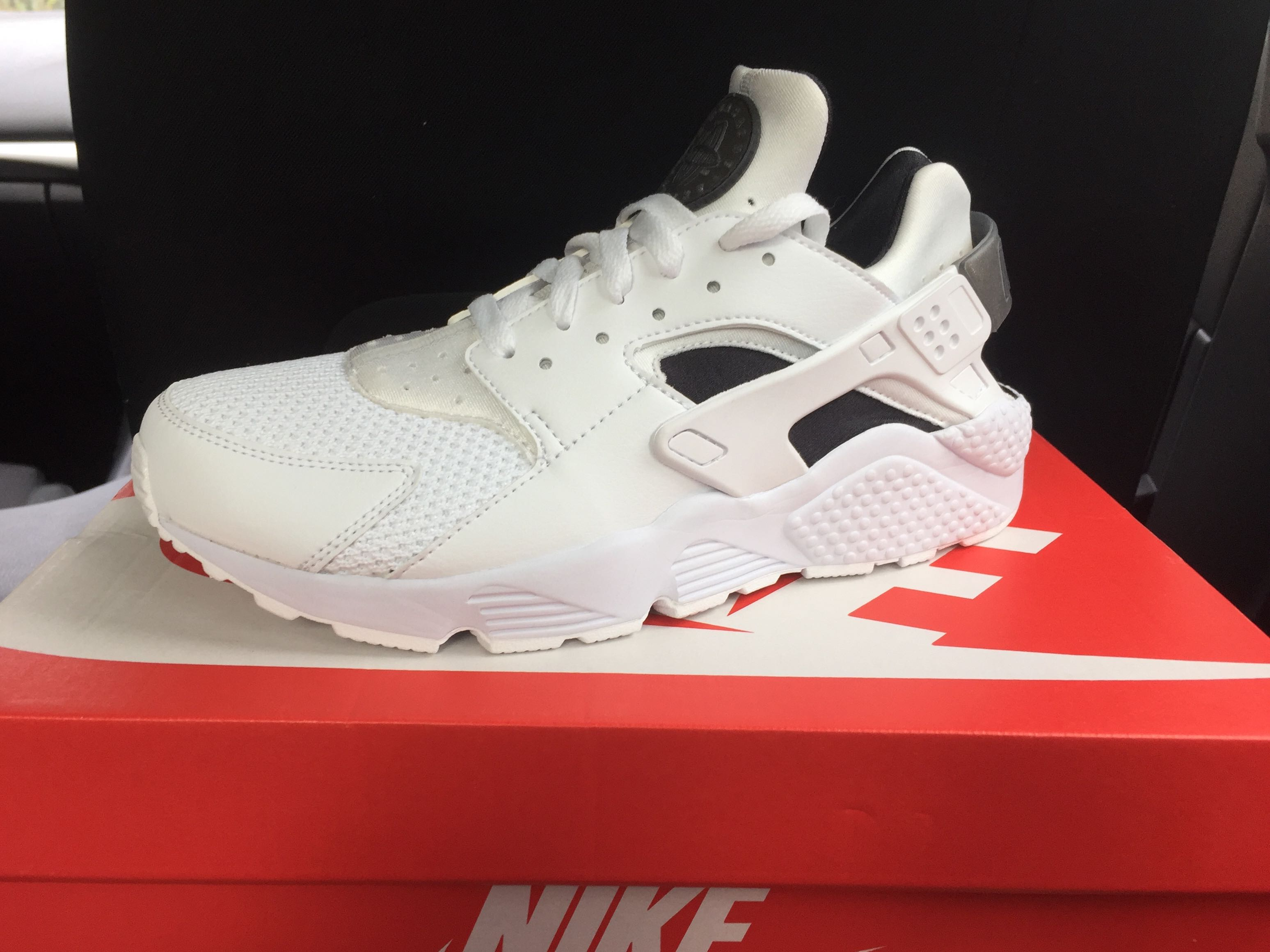 2bdc093208c Nike Air Huarache White/Black Platinum