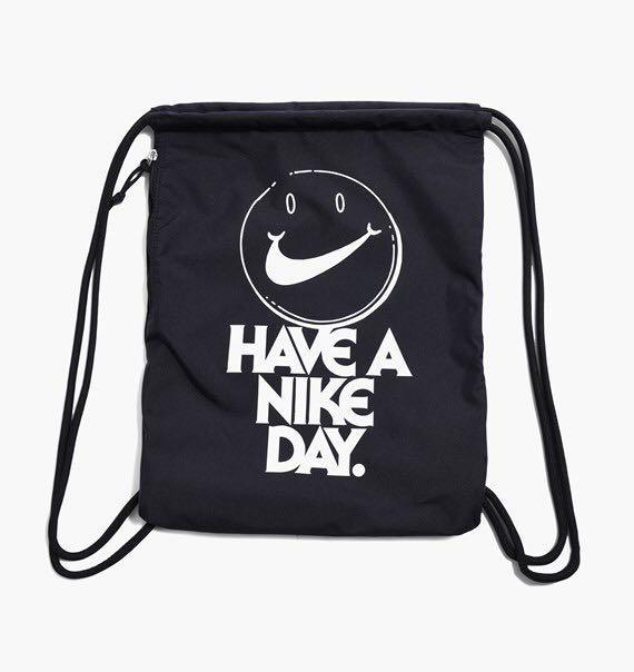 "89302f0d0e92 Nike ""Have A Nike Day"" Reversible Drawstring Bag"