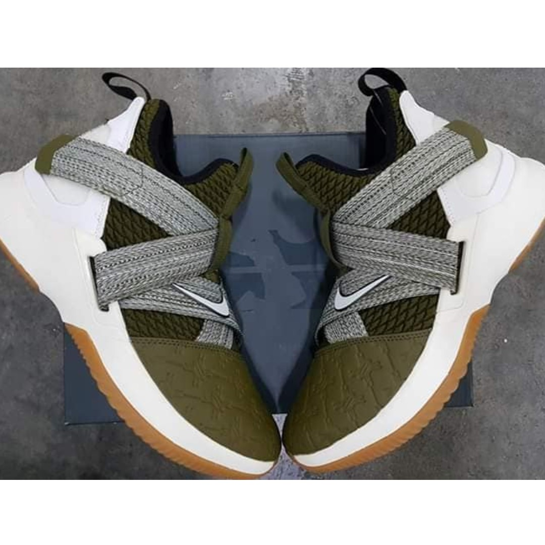 68c41a547c0 Nike LeBron Soldier 12 Land and Sea - MEN BASKETBALL SHOES