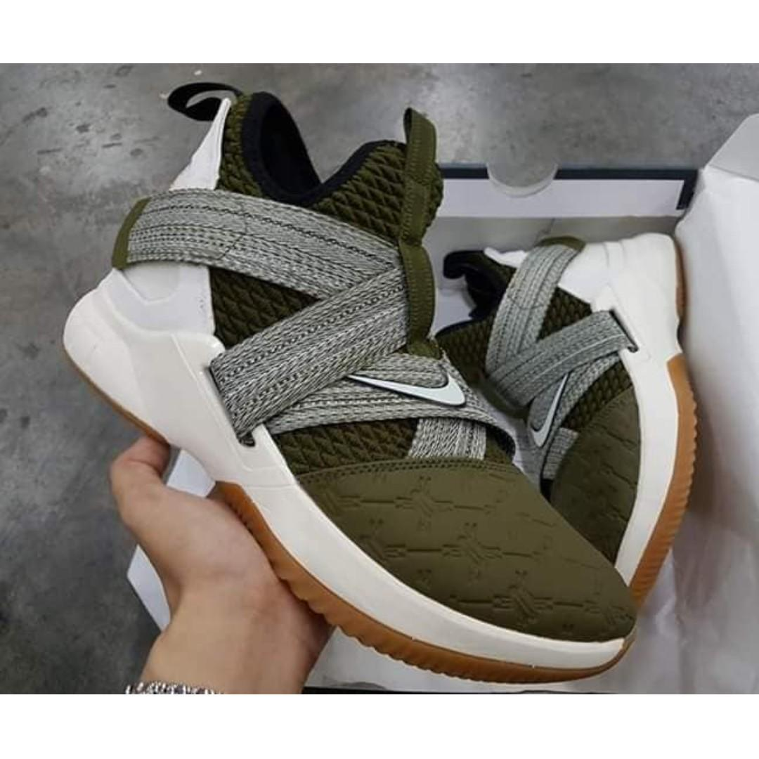 a5cf067a316 Nike LeBron Soldier 12 Land and Sea - MEN BASKETBALL SHOES on Carousell