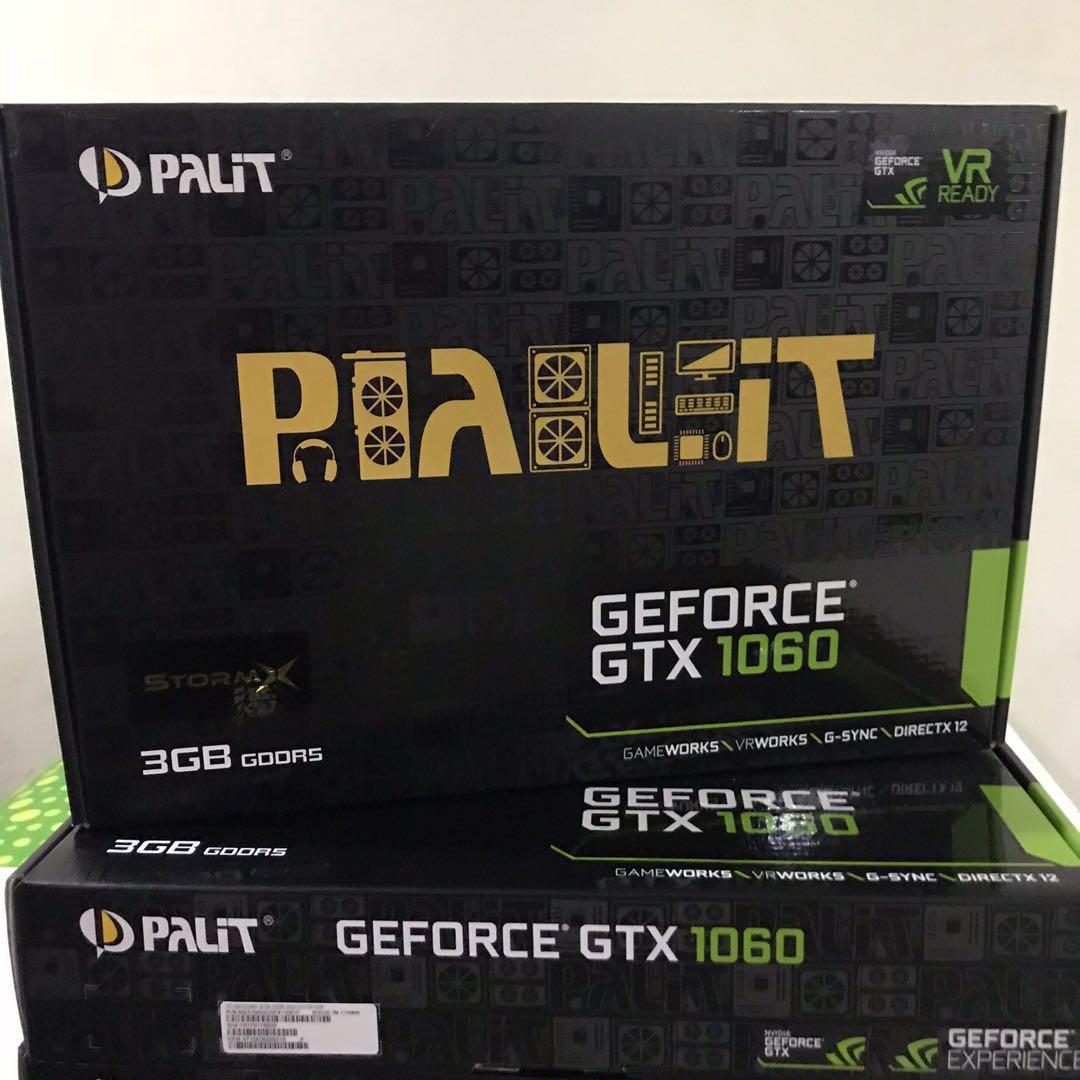Palit StorX GTX 1060 3gb used