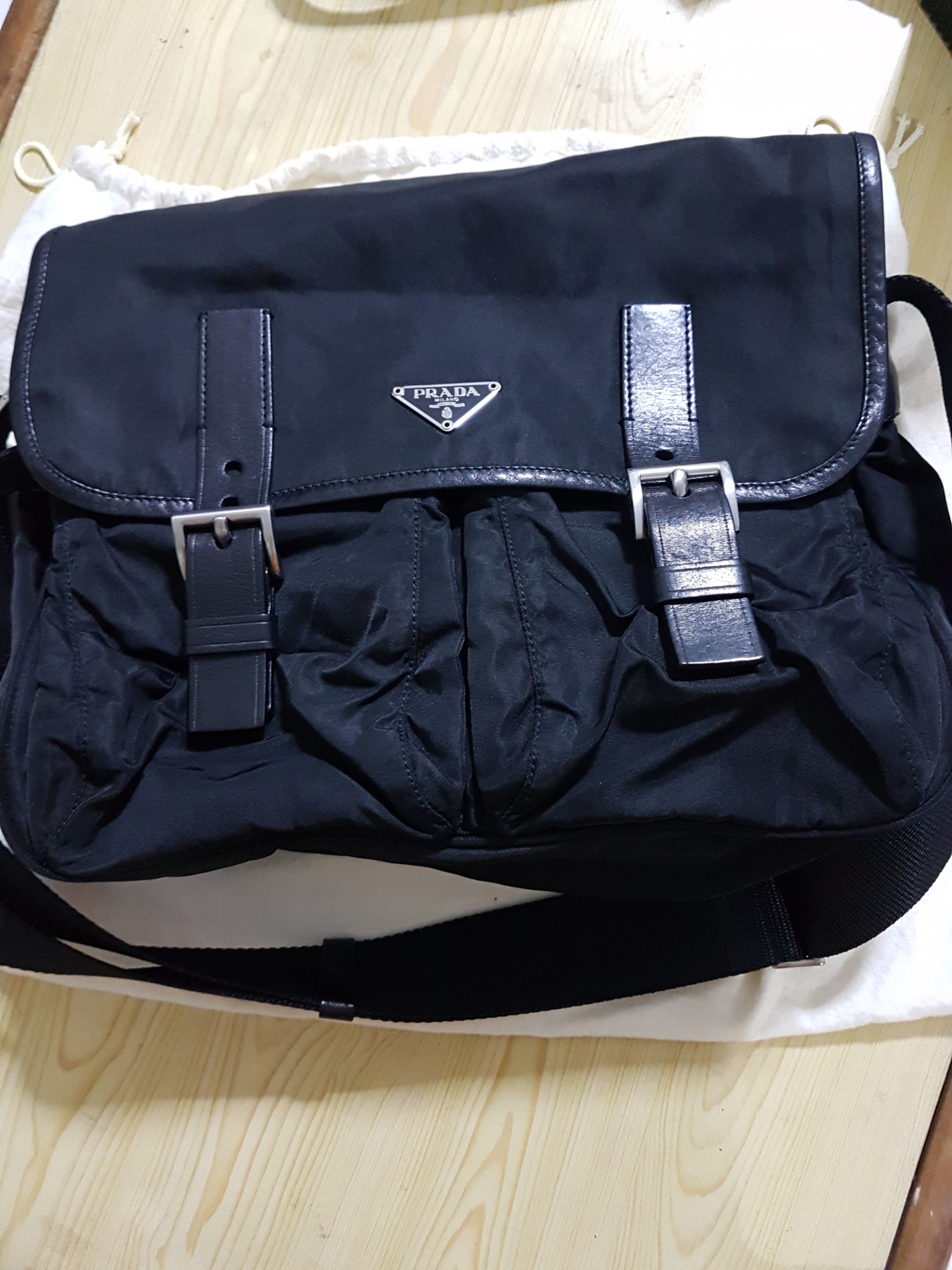8c620cebb79b78 Prada sling bag, Luxury, Bags & Wallets, Sling Bags on Carousell