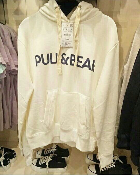 PULL BEAR SWEATER HOODIE UNISEX a51991ab9e