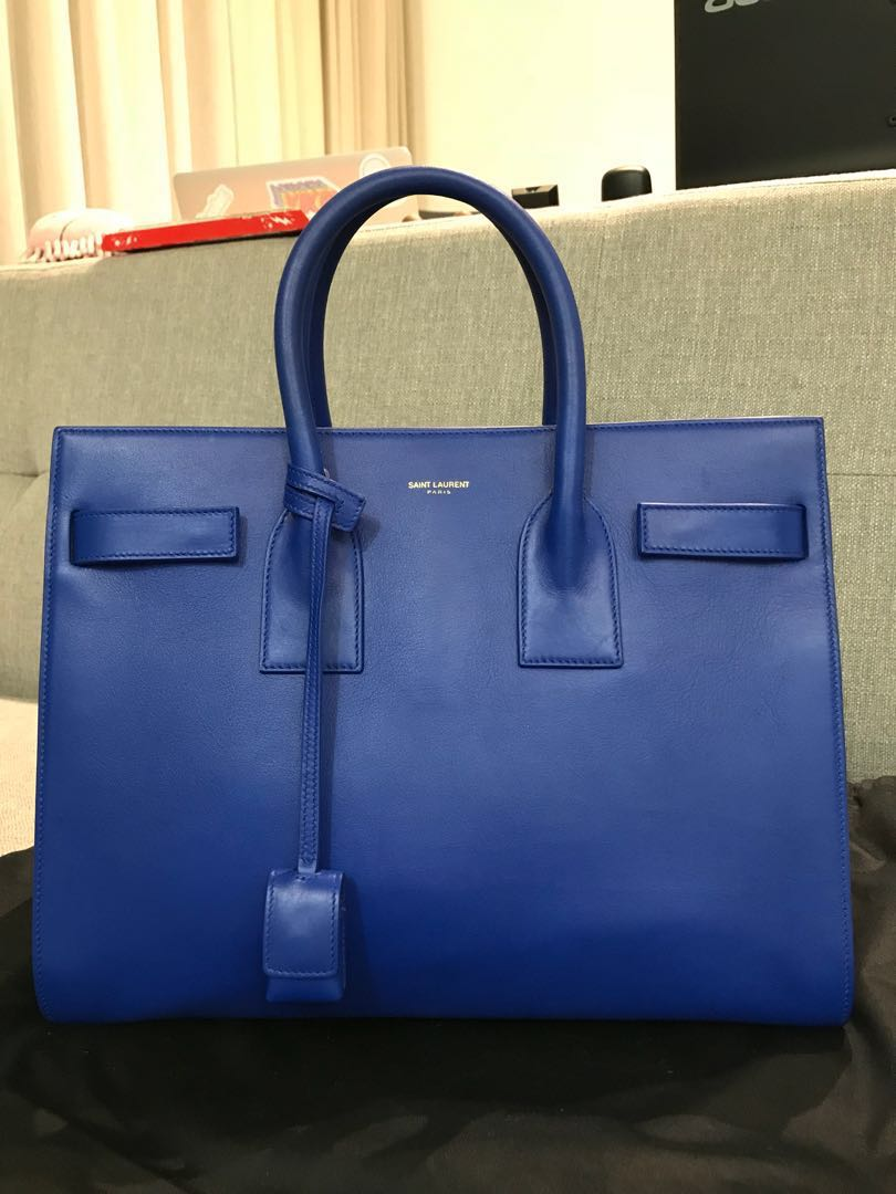 bb7312a975 Saint Laurent Sac De Jour, Luxury, Bags & Wallets, Handbags on Carousell