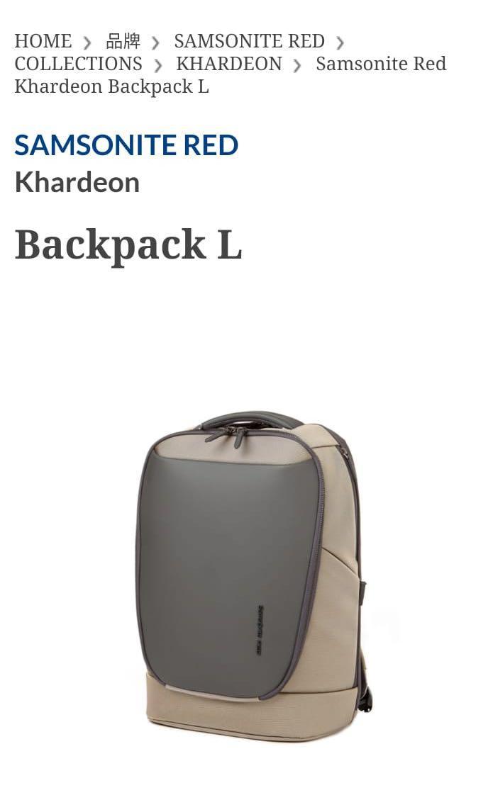 Samsonite Backpack Backbag 新秀麗背囊背包