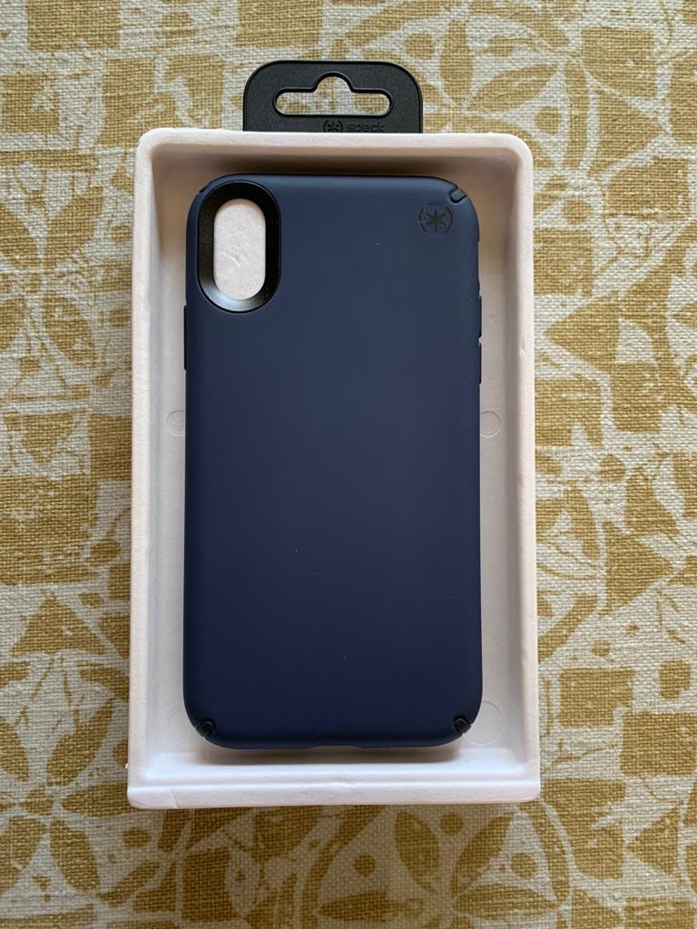 wholesale dealer a9772 18e0d Speck iphone XR case presidio pro blue
