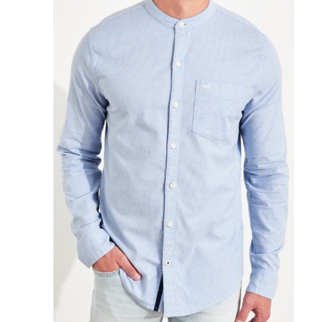 386daa88d STRETCH OXFORD MUSCLE FIT SHIRT SIZE L, Men's Fashion, Clothes, Tops ...