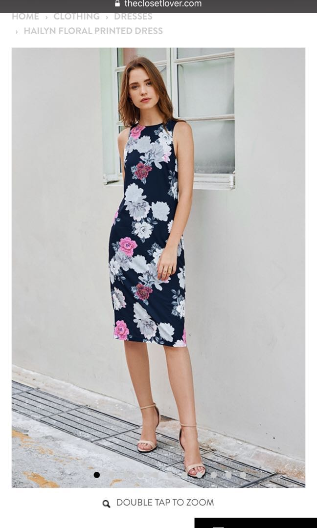 2dcaf7e2 TCL Theclosetlover Hailyn Floral Printed Dress in Size S, Women's ...
