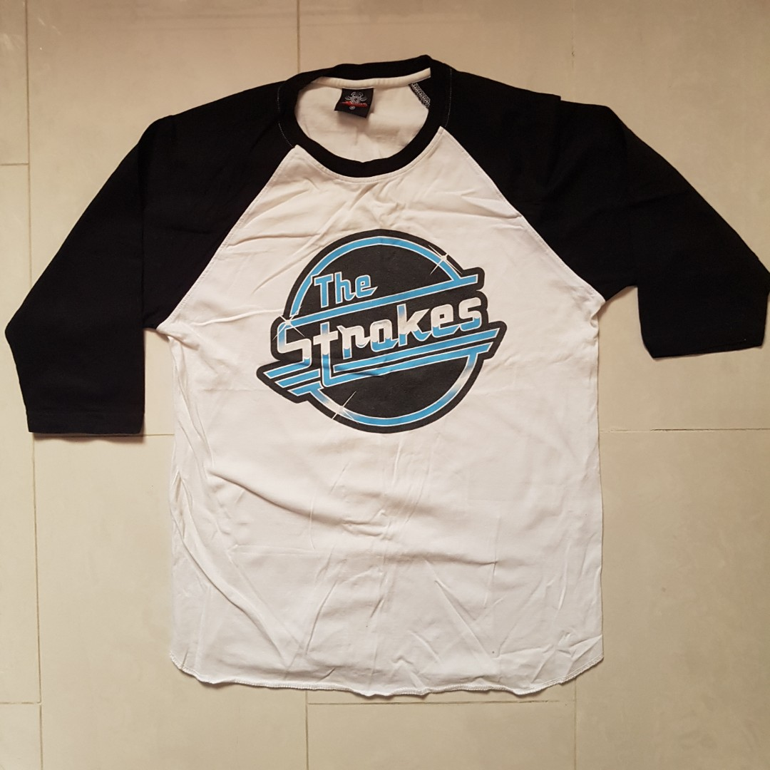 1ae02fda The Strokes raglan t-shirt vintage music indie band, Men's Fashion ...