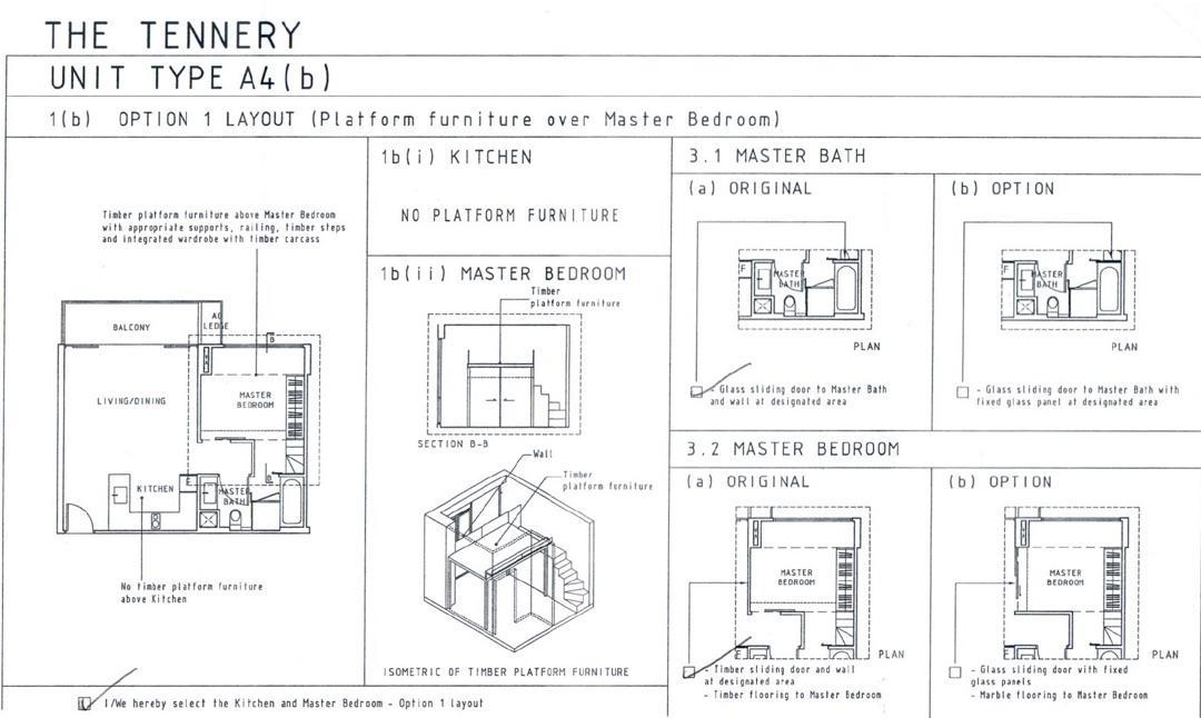The Tennery, 1 bedroom Loft unit, MRT at door step, Mall